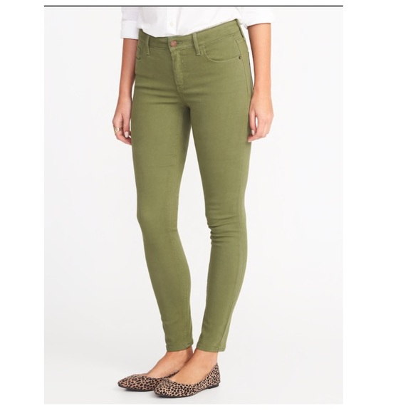 d5d547ec8ab3b Old Navy Jeans | Olive Green Jeggings | Poshmark